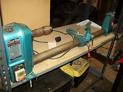 "Clarke Wood Lathe 37"". Collection Only Fareham Po15"