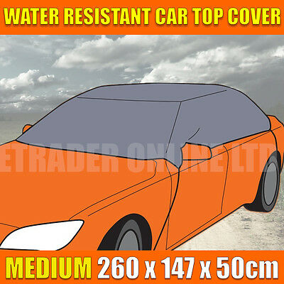 Medium Water Resistant Universal Car Top Cover Roof Frost Snow 260 x 147 x 50cm