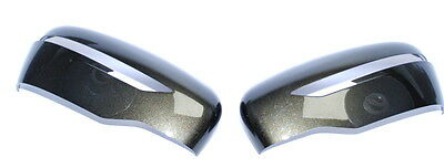 Nissan Qashqai J11 2014 on / X-Trail Pair of Painted Mirror Covers Used Green