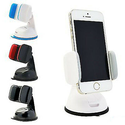 Car Phone Holder Universal Mount Windscreen Dashboard Various Colours iPhone HTC