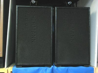 Shermann Audio 8″ 2-way installation speakers – Pair – Used – Good Cond