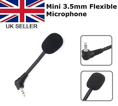 Mini 3.5mm Flexible Microphone Mic for PC Laptop Skype MSN Chat Online VOIP