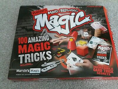 Marvins mind blowing magic 100 tricks ideal for xmas