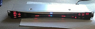Discontinued KORG DTR-2000 Blue and Red  Lights Rackmount Instrument Tuner