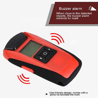 Wall Detector Find Metal Wood Studs AC Voltage Live Wire Detect Electric Scanner