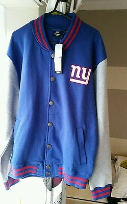 Newyork giants jacket majestic large