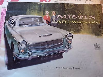 Austin: Westminster 1960 Austin Westminster complete project car