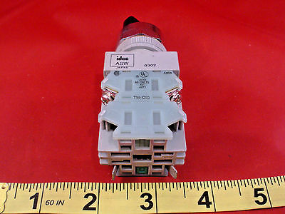 Idec ASW-0302 Selector Switch 3-Position Maintained ASW 0302 TW-C10 New Nnb