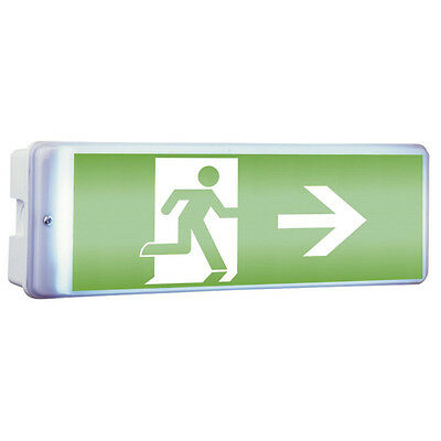 LED ESCAPE ROUTE SIGN Emergency Light Emergency exit light Sign 50x35cm