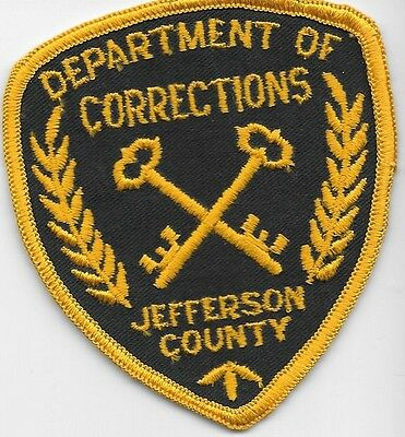 Jefferson County  Ky Kentucky Police Dept Of Correction Doc Jail Prison So Sd