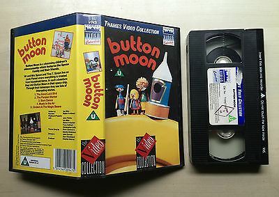 Thames Video Collection - Button Moon - Vhs Video