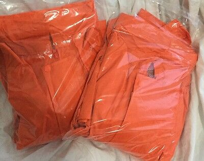Hi Vis Waterproof Set Pants And Jacket. Size 5Xl -Great For The Boat