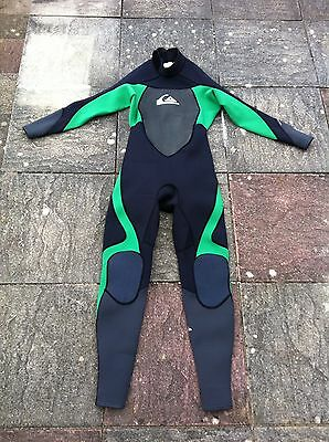 New Mens Adults Quiksilver Syncro Full Length Wetsuit Size L Large 3/2mm Bnwt