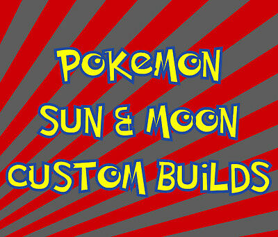 Custom Shiny 6IV Pokemon Sun / Moon EV Trained Battle Ready - You Choose! + Item