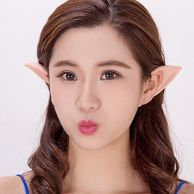 High Quality Anime Elf Ears Tips Cosplay Halloween Costume Vampire Hobbits