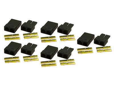 5pairs TRAXXAS TRX Plug Connector for Lipo/NiMh Battery Brushless ESC RC