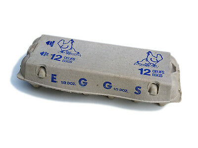 20 Pulp Chicken Egg Cartons - Ships from Canada!