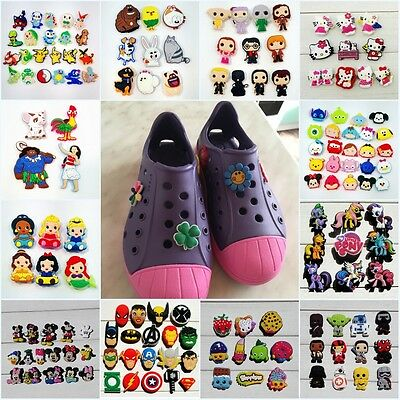 Free DHL 1000pcs Pokemon PVC Shoe Charms shoe Accessories for Croc&Jibbitz gifts