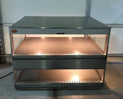 Hatco Food Warmer GRSDS-36D Glo-Ray Slant Display Large Stainless