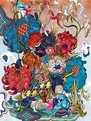 James Jean Masquerade Signed Limited Edition Poster Print Murakami ComplexCon