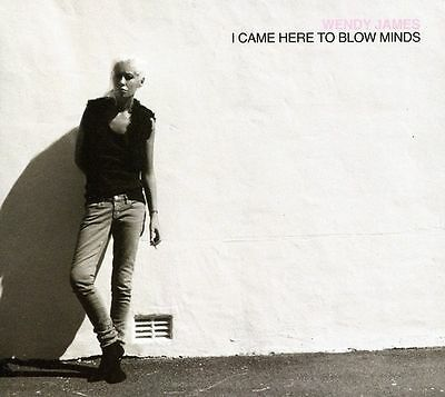 WENDY JAMES--I Came Here To Blow Minds-CD--Transvision Vamp