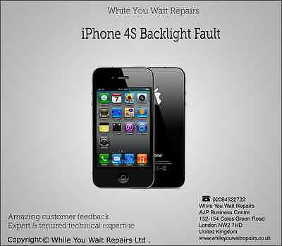 Repair Replacement Service for iPhone 4s Backlight issues