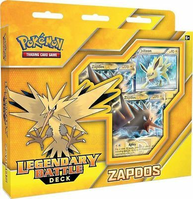 NEW! Pokemon TCG. Legendary Battle Deck. Zapdos. Collectable Cards.