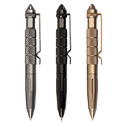 Aviation Aluminum Self Defense Tactical Military Pen Glass Breaker Tool Wondrous