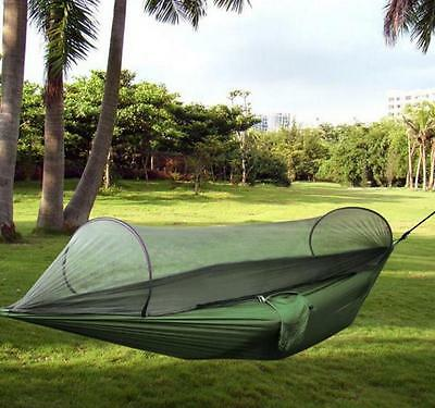 High Strength Hammock Portable Hiking Camping Hammock Swing With Mosquito Net
