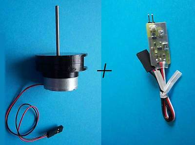 Radio Controlled RADAR Controller and Motor Kit for Model Ship/Boat/Yacht