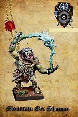 Shieldwolf Miniatures Mountain Orc Shaman