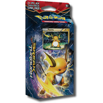 NEW! Pokemon TCG. XY8 Breakthrough Burning Spark Raichu. Theme Deck.