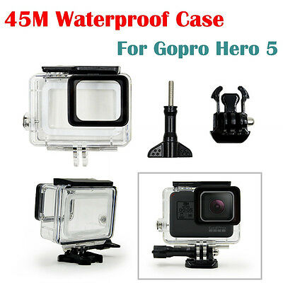 Protect Waterproof Underwater Housing Case Cover for GoPro Hero 5 Session Camera