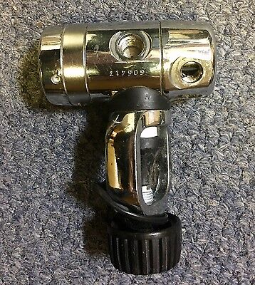 APEKS DST 1st Stage Yoke A Clamp Regulator - Supplied serviced if required!