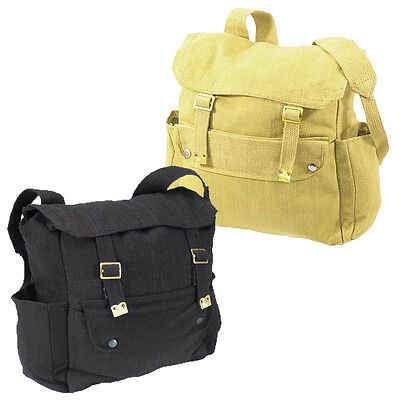 WP4 Webbing Military Retro Bag Canvas Backpack Day Pack Haversack School Fishing