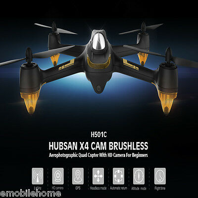 Hubsan X4 H501C GPS Brushless RC Quadcopter 1080P Headless Mode One Key Return