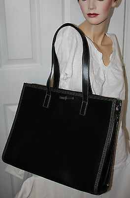 New without tags Buxton Aelicia Black Laptop Brief Case Tote Ladies