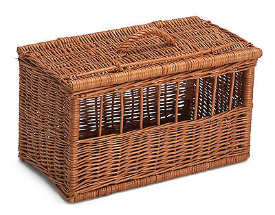 Extra Large Wicker Cat Dog Pet Carrier