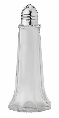 HIC Classic Eiffel Tower Style Salt and Pepper Shaker, Glass, 3.5-Ounce
