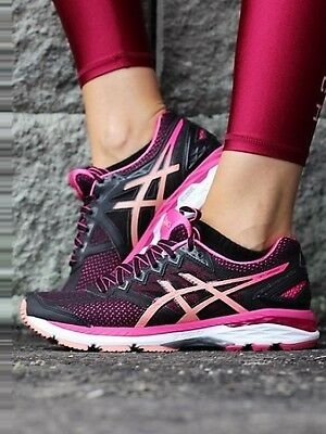 Asics Gt 2000 4 Womens Ladies Support Running Gym Trainers Shoes Uk 4.5 5