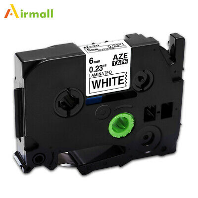 Compatible for Brother TZ-211 TZe-211 Standard P-Touch Laminated Label Tape