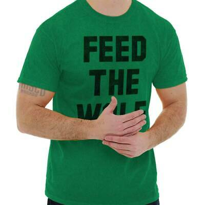 Feed The Wolf Funny Shirt Sarcastic Gift Idea Hungry Sexual Classic T Shirt Tee