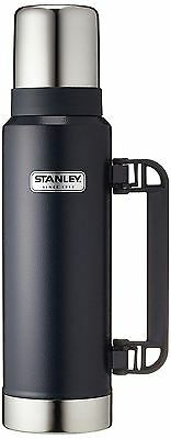Stanley Classic Legendary Vacuum Insulated Coffee Tea Soup Bottle Flask Navy 1L