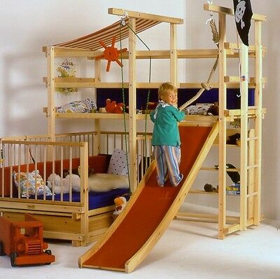 Building plans for Pirate Adventure Bed Play bed Gullibo and similar MOA A41