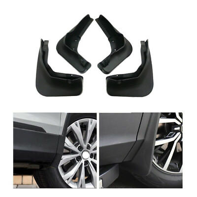4 Car Mud Flaps Splash Guard Mudguard  Mudflaps For KIA Rio Sedan 2012-2017-2018