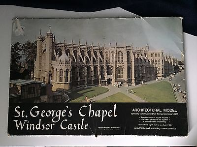 St. George's Chapel Windsor Castle Architectural Model 1:100 Scale Kit