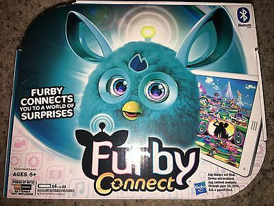 New Hasbro Furby Connect Bluetooth Interactive Personal Fuzzy Friend Teal