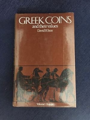 Greek Coins And Their Values Book Volume 1 Europe Hardcover