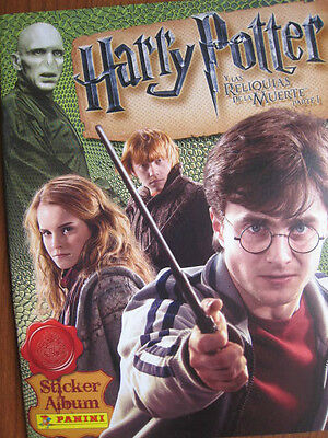 Harry Potter Deathly Hallows Part 1 Panini Complete Collection + Album