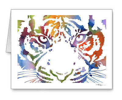 Tiger Note Cards With Envelopes